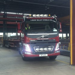 2nd Volvo FM500 arrives @ LVS